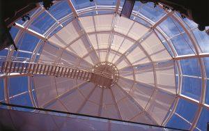 Sichtschutz Glasdach