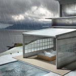 Terrasseneinhausung