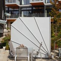 Sichtschutzfächer für die Terrasse